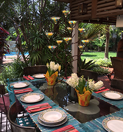 Easter table in Key West
